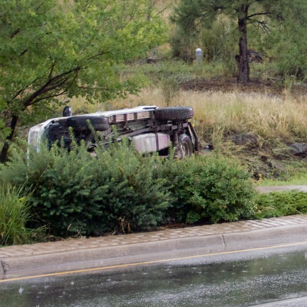Rollover Crash on I-75, Florida