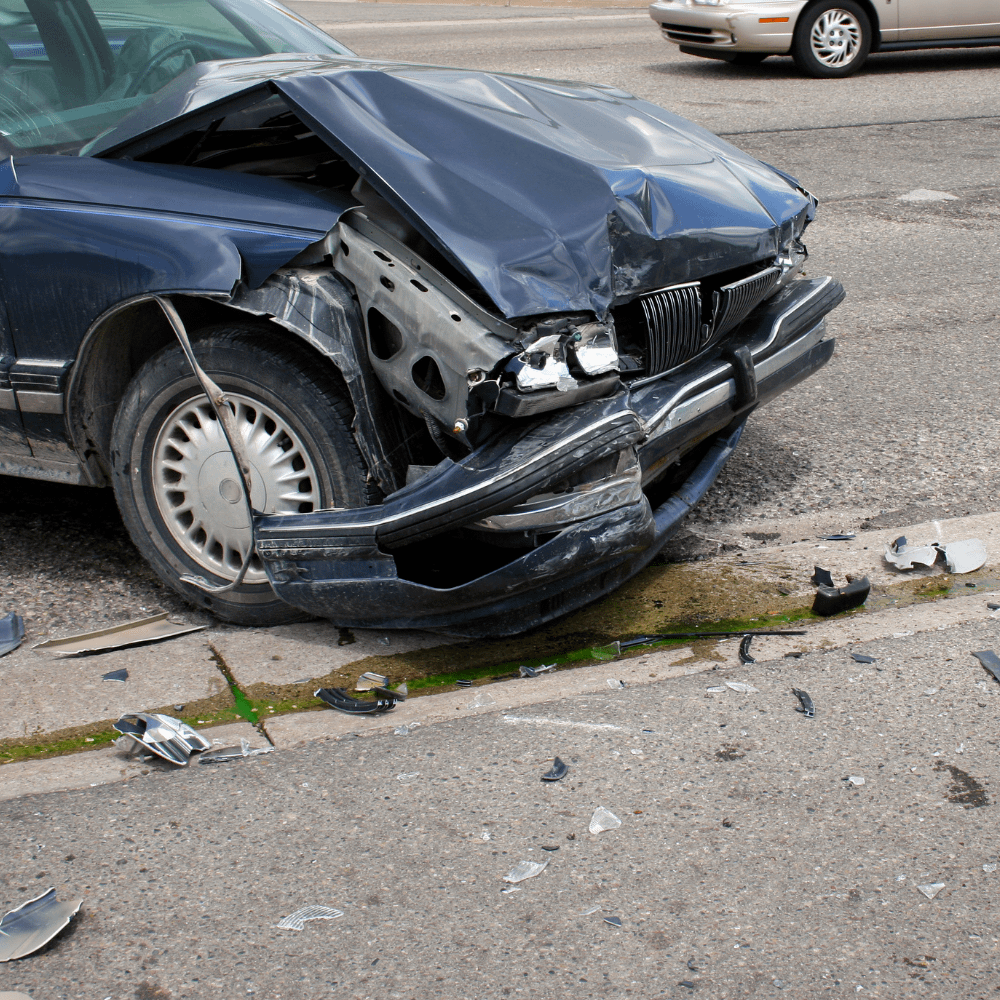 Man dies in a single vehicle crash on Interstate 95