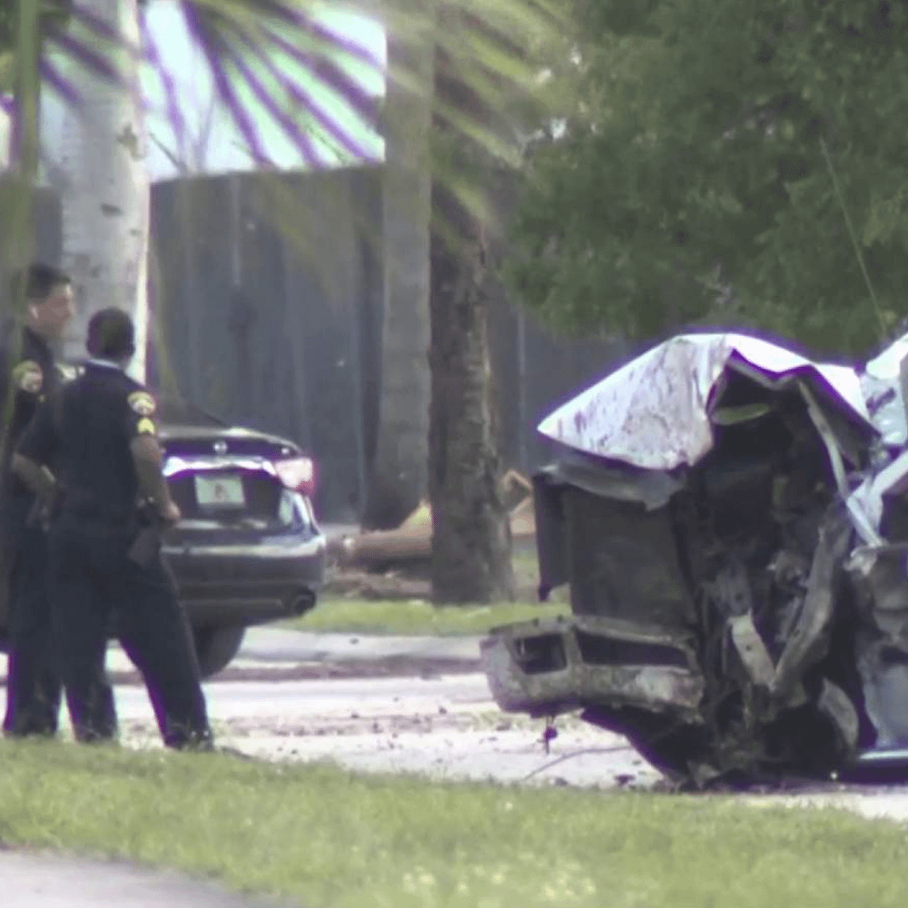 1 died and several injured in a multi-vehicle crash in Opa-locka