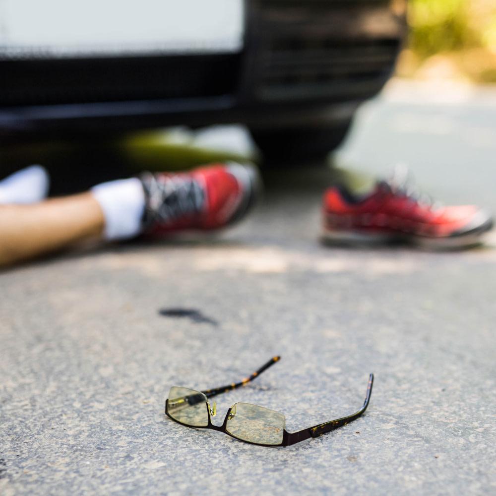 A 24-year-old pedestrian died in Orange County crash