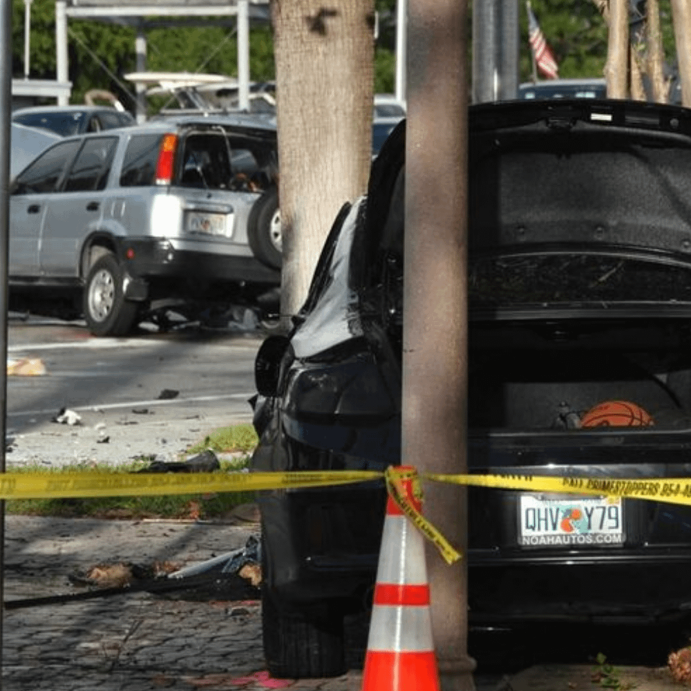 One died in a two-car accident in Fort Lauderdale, possibly involving DUI