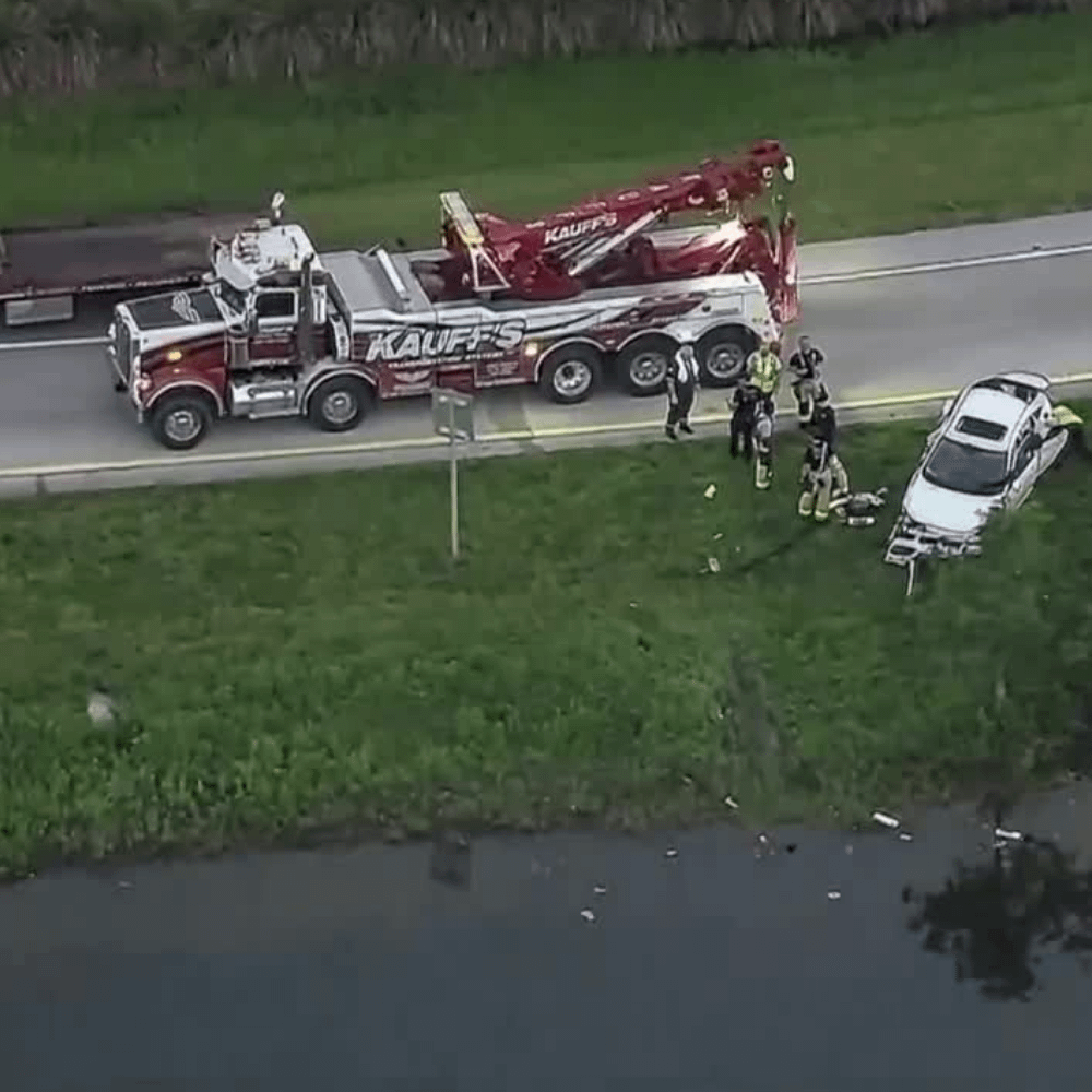 One killed in a 2-vehcile Crash in Martin County