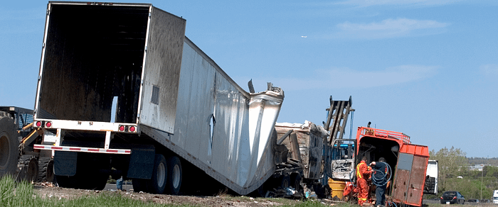 Are Truck Drivers Liable for Damages in an Accident?