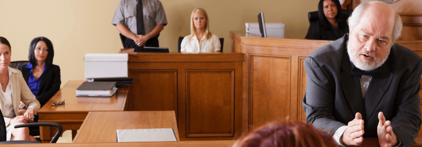 Experience in the Courtroom