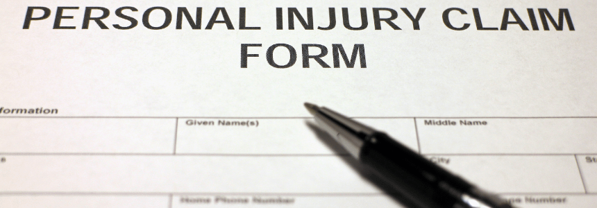 File a Claim for Your Personal Injuries