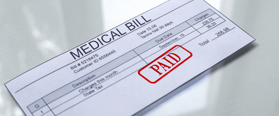 Medical Bills from a Personal Injury Settlement