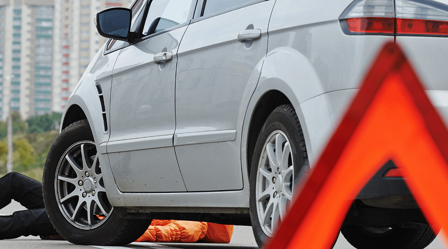 A woman in her 60s was struck