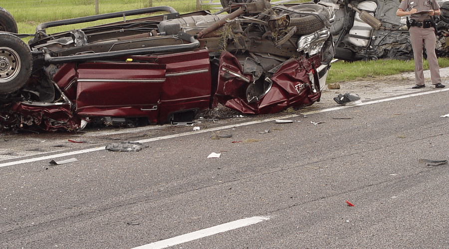 pickup truck passenger died in a collision on I-75
